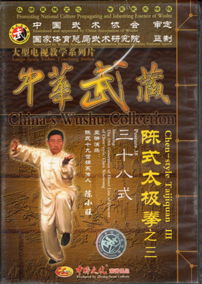 Picture of 38-Posture Form By:  Grandmaster Chen Xiaowang.