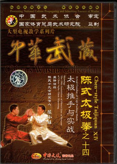 Picture of Actual Combat of Taiji Pushing Hands with Grandmaster Chen Xiaowang