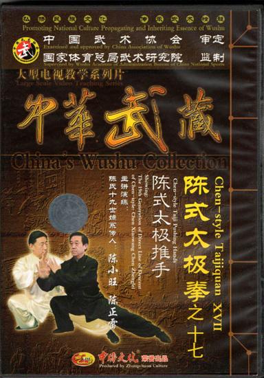 Picture of Chen-style Taiji Push Hands with Grandmaster Chen Xiaowang and Grandmaster Chen Zhenglei